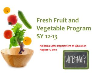 Fresh Fruit and Vegetable Program SY 12-13