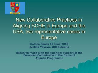Golden Sands 15 June 2009 Ivelina Yoveva, IUC Bulgaria