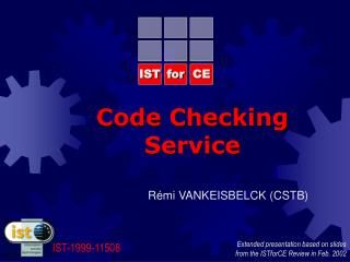 Code Checking Service
