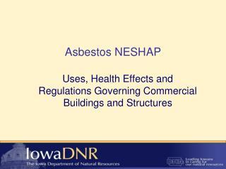 Asbestos NESHAP