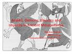 Asakk . Demons, Illnesses and Impurity in Ancient Mesopotamia