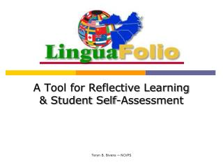 A Tool for Reflective Learning  & Student Self-Assessment
