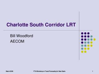 Charlotte South Corridor LRT
