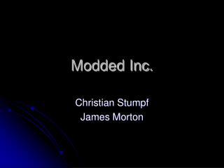 Modded Inc.
