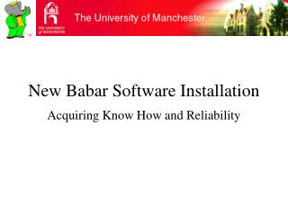 New Babar Software Installation