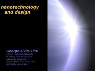 nanotechnology and design