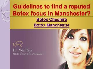 Dr. Nyla Raja - Botox Specialist Manchester