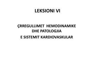 LEKSIONI  VI