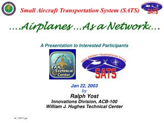 ….Airplanes …As a Network….