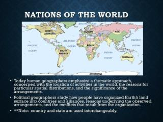Defining an independent nation