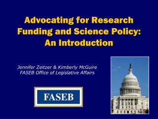 Advocating for Research Funding and Science Policy: An Introduction
