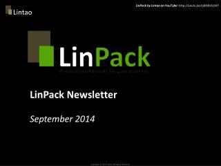 LinPack Newsletter  September  2014