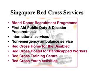 Singapore Red Cross Services
