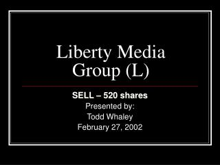 Liberty Media Group (L)