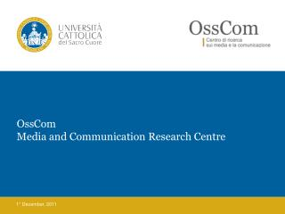 OssCom Media and Communication Research Centre