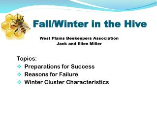 Fall/Winter in the Hive