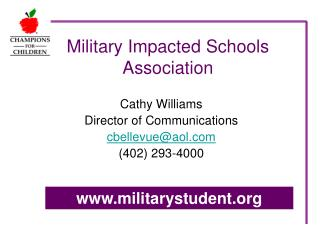 Military Impacted Schools Association