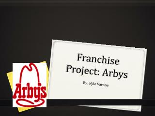 Franchise Project: Arbys