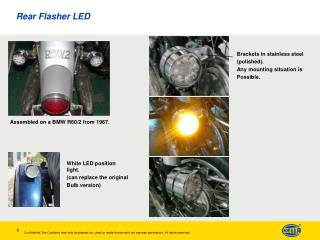 Rear Flasher LED