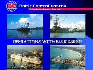 OPERATIONS WITH BULK CARGO
