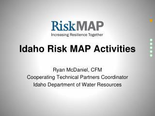 Idaho Risk MAP Activities