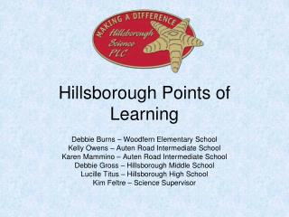 Hillsborough Points of Learning