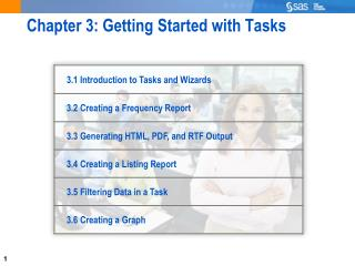 Chapter 3: Getting Started with Tasks