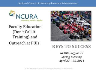 Faculty Education  (Don't Call  it  Training )  and Outreach  at  PUIs