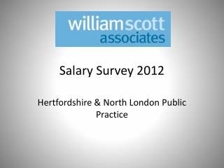 Salary Survey 2012