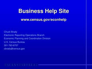 Business Help Site census/econhelp