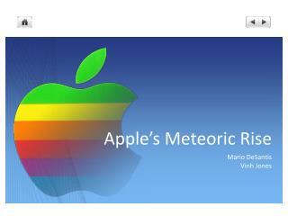 Apple's Meteoric Rise