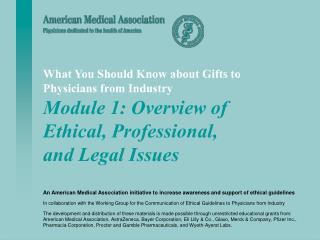 What You Should Know about Gifts to Physicians from Industry