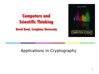 Computers and Scientific Thinking David Reed, Creighton University