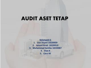 AUDIT ASET TETAP