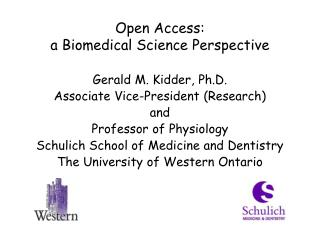 Open Access:  a Biomedical Science Perspective