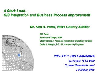 A Stark Look… GIS Integration and Business Process Improvement