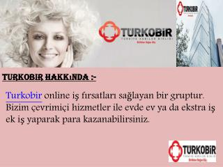 evde is - Turkobir