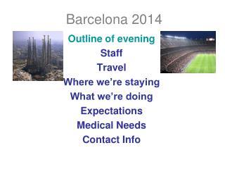 Barcelona 2014