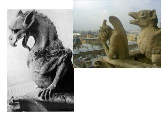 The Gargoyles of Notre Dame: