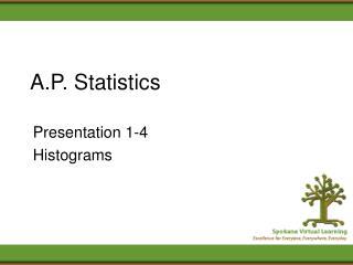 A.P. Statistics