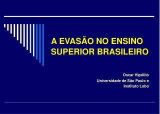 Oscar Hipólito Universidade de São Paulo e