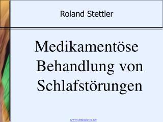 Roland Stettler