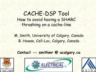 CACHE-DSP Tool How to avoid having a SHARC  thrashing on a cache-line
