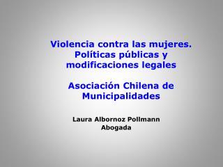 Laura Albornoz Pollmann Abogada