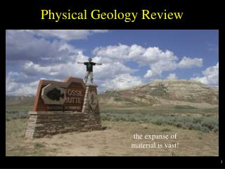 Physical Geology Review