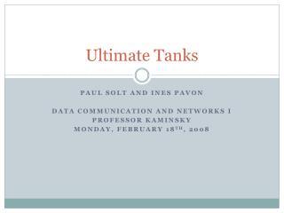 Ultimate Tanks