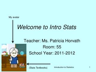 Welcome to Intro Stats