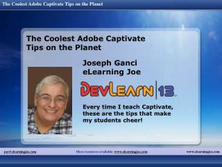 The Coolest Adobe Captivate Tips on the Planet