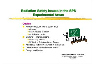 Radiation Safety Issues in the SPS Experimental Areas