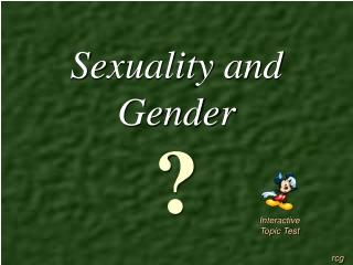 Human Sexuality Jeopardy